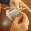 急に棒編みやりたくなった!
