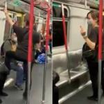 【動画】香港、地下鉄でまた中国人が!座席を踏みつけ傲慢な態度!乗客ドン引き [海外]