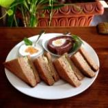 『丸亀市のカフェビベリーでツナサンドランチ』の画像