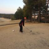 『今年の初ゴルフ』の画像