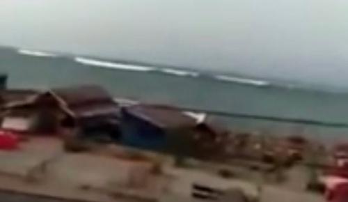 インドネシア地震の津波映像を見た海外の反応
