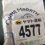 『【青梅マラソン】チャレンジ51歳、自己記録更新へ向けて:その4』の画像