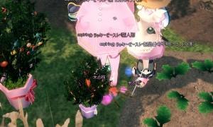 「サーバー対抗『木の枝』収集」…木の枝を拾う人形カバンはいいぞ