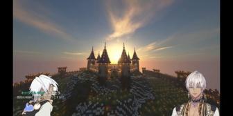 【にじさんじ】イブラヒムが作成中の天空城が美し過ぎる…