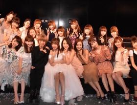 高橋みなみAKB48卒業公演に「やまぐちりこ」が駆けつける ( ;∀;) イイハナシダナー