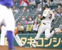 【阪神】2試合ぶりのスタメン復帰の大山悠輔が初回2死満塁で投ゴロ 甲子園はため息