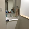 洗面所2つは正解でした。