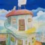 『屋根の上の絵描き』