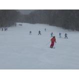 『新雪も積もりました。本日バッジテスト開催致します。』の画像