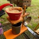昭島発ガレージブランド「野道具・麦」のキャンプギアを一部紹介
