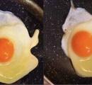 【問題】2つの目玉焼きのうち、片方はイラストです どっちが本物か、あなたはわかる?