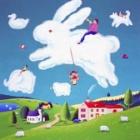 『紙芝居「ウサギのビッちゃんからの手紙」』の画像