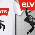 「Levi's リーバイス」のパロディTシャツ「elvis' エルヴィス」Tシャツがクスッとくる!