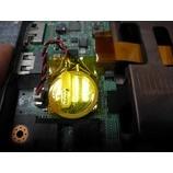 『時計が狂う?NEC LaVie LM750/E内蔵電池交換作業』の画像