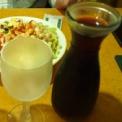 グラスワインが1杯100円で飲める