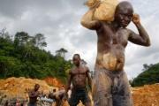 ガーナ、金違法採掘で中国人40人を逮捕