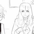 【THEALFEE】『TOKYO狂詩曲2・アルバイトとすひこ!大赤字のお店を救うのはさくらこの手作りお菓子!?』アルフィー漫画マンガイラスト