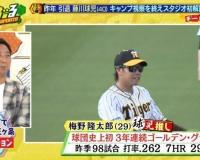 """球児が引退後初の阪神キャンプ視察…""""最もコンディション良かった選手""""問われ即答「彼はキレがすごかった」"""