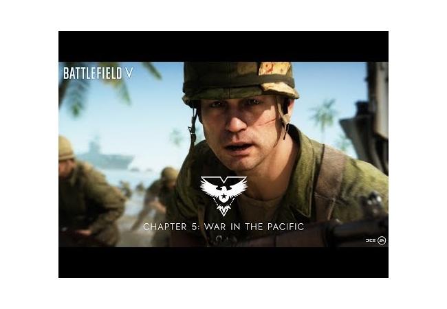 太平洋の戦い、日本軍を虐殺するBF5のトレイラーが公開