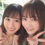 『【乃木坂46】田村真佑×掛橋沙耶香、薄着で密着・・・』の画像