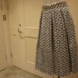 『ottod'Ame(オットダム)ギンガムチェックフレアスカート』の画像
