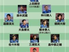 【 E-1選手権 】中国戦・・・日本代表のスタメン予想!