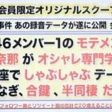 『文春砲は欅坂46織田奈那で確定!!専門学生と半同棲!!相手男性への直撃インタビューもある模様!!!!!!!!』の画像
