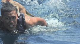 【タイ】転覆した漁船に取り残された猫4匹、海軍隊員が背中に乗せて救出…ネットで大反響