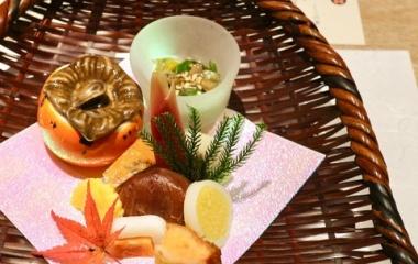 『天満橋【ディナー】本格日本料理懐石「楽待庵」で本格日本料理懐石の「神無月懐石」で秋を堪能。夜景も素敵でした!』の画像