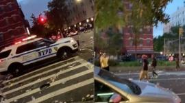 【米国暴動】マンハッタンのハーレムで群衆が警官を襲撃