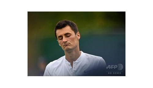 ウィンブルドンで「テニスに飽きた」と発言した選手が罰金とスポンサー解除に