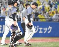 阪神大苦境 西勇輝でヤクルトに完敗…矢野監督「精一杯やっていくしかない」