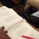 『リバネスの丸幸弘先生は今、まさに、執筆の最終校正の佳境です!出版は2月20日予定!』の画像