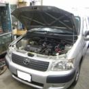 トヨタ NCP51V サクシード エアコン修理 エバポレーター ダッシュ降ろし