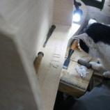 『年号を彫る、チビ子』の画像