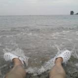 『海水浴で〆』の画像