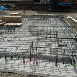 『スピティ新・武庫元町1丁目モデルハウスの基礎工事!!』の画像