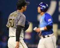 阪神・青柳 5回8安打4失点で降板