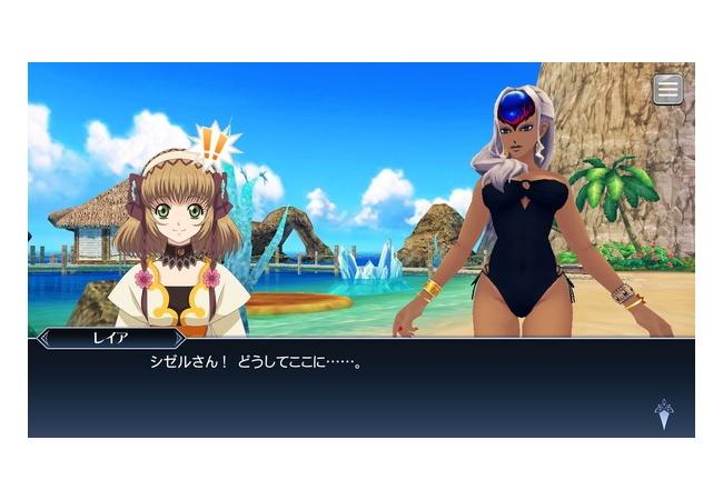 【画像】テイルズオブの水着が最高すぎるwwwwww