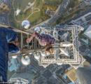 【画像】高さ約400mの場所から撮影された写真が話題に