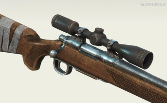 Right Handed Hunting Rifle