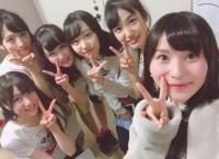 福岡聖菜と田北香世子がチーム8コンサートを観覧!福岡聖菜の推しメンは阿部芽唯に