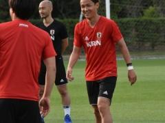 日本代表・宇佐美貴史「試合に出ていないが調子や技術は下がってない」