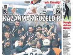 【 画像 】まるで神!トルコ地元紙で1面飾った香川真司がカッコ良すぎ!