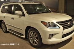 レクサス「LX570」 2015年夏に日本発売予定、5.7L V8搭載のSUV