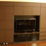 『高松市のマンションにすえ木工のMG壁面収納を納品』の画像