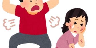 嫁に口喧嘩で勝てなくて手をあげることが数回。お前らはどんなにムカつくこと言われても反論で済ませているのか?