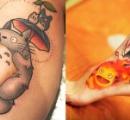 スタジオジブリのタトゥーが海外で大人気!