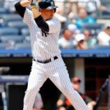 『【野球/MLB】ロッテ、前ヤンキースのルイス・クルーズ内野手(29)を獲得したと発表』の画像