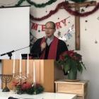 『今日は、京都与謝野町のクリスマス礼拝にいきました。』の画像